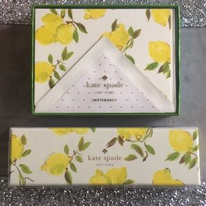 Kate Spade NoteCards and Ball Point Pen